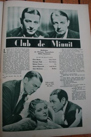 Clive Brook George Raft Helen Vinson