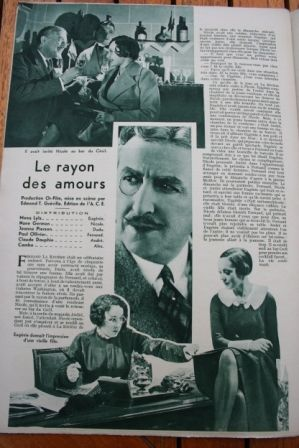 Nane Germon Claude Dauphin Paul Ollivier