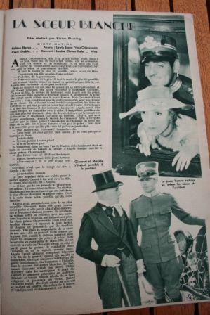 Helen Hayes Clark Gable The White Sister