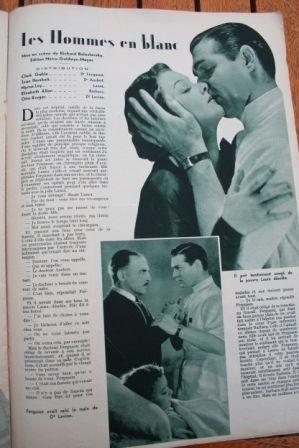 Myrna Loy Clark Gable Jean Hersholt