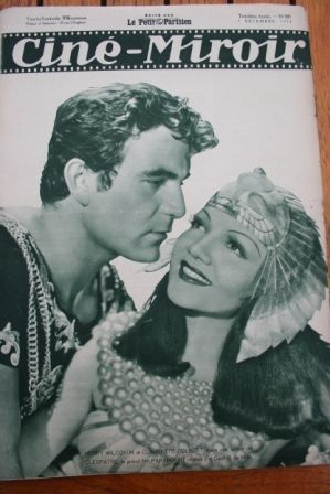 Claudette Colbert Henry Wilcoxon Cleopatra