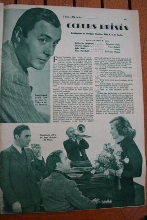 Katharine Hepburn Charles Boyer John Beal