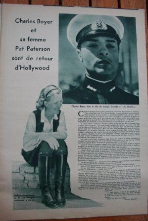Charles Boyer Pat Paterson