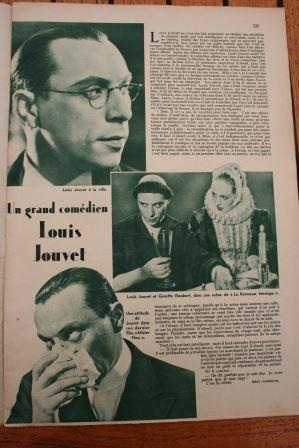 Magazine 1936 danielle darrieux anton walbrook jean louis for Miroir danielle