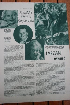 Johnny Weissmuller Tarzan Escapes
