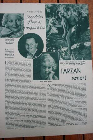 Johnny Weissmuller Tarzan Escapes