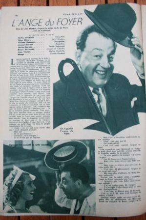 Lucien Baroux Betty Stockfeld Roger Duchesne
