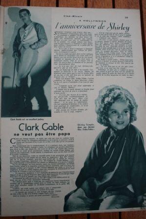 Shirley Temple Clark Gable