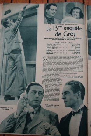 Maurice Lagrenee Raymond Cordy Colette Darfeuil