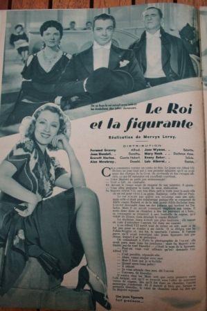 Joan Blondell Fernand Gravey Edward Everett Horton
