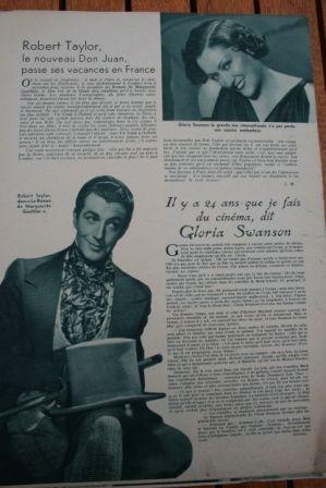 Robert Taylor Gloria Swanson