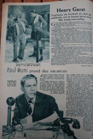 Paul Muni Henry Garat