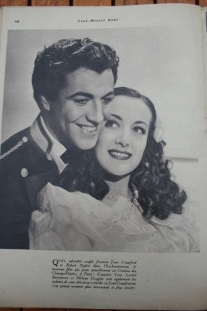 Robert Taylor Joan Crawford