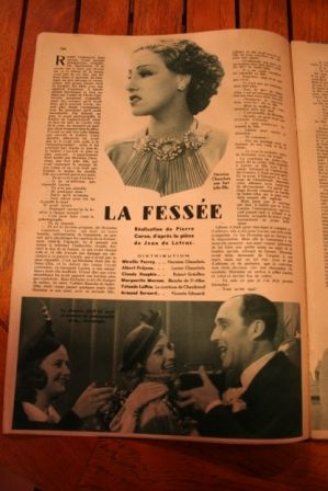 Albert Prejean Mireille Perrey Claude Dauphin
