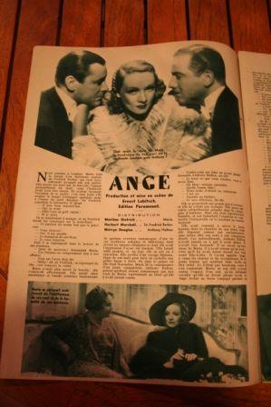 Marlene Dietrich Melvyn Douglas Herbert Marshall