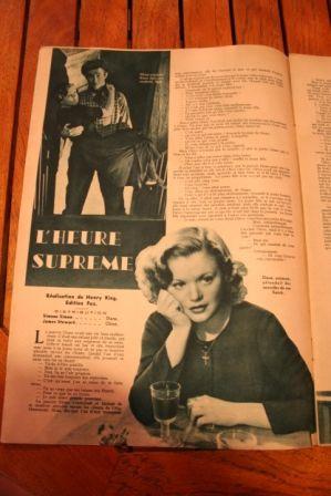 Simone Simon James Stewart Jean Hersholt