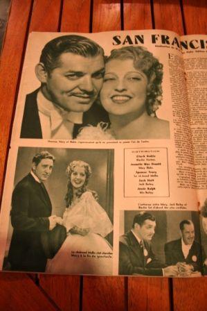 Clark Gable Jeanette MacDonald Spencer Tracy