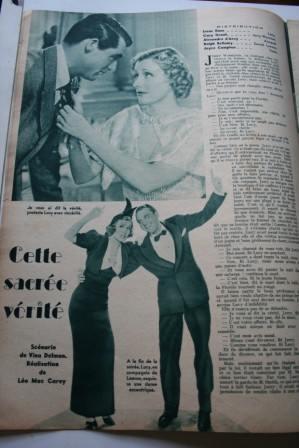 Irene Dunne Cary Grant Ralph Bellamy