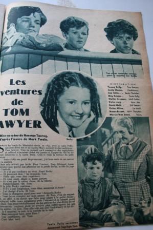 Tom Sawyer Tommy Kelly Ann Gillis Jacky Moran