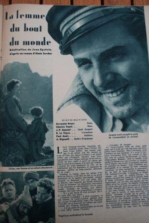 Charles Vanel Germaine Rouer Jean-Pierre Aumont
