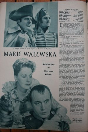 Greta Garbo Charles Boyer Reginald Owen