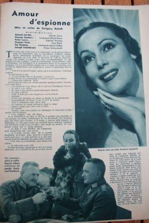 Dolores del Rio George Sanders Peter Lorre