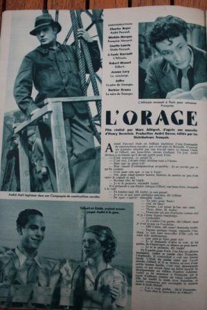 Charles Boyer Michele Morgan Lisette Lanvin