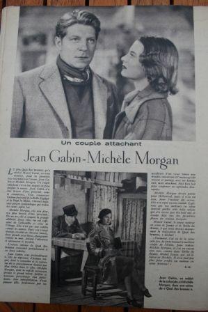 Jean Gabin Michele Morgan
