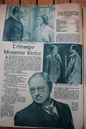 Raimu Pierre Blanchar Madeleine Renaud