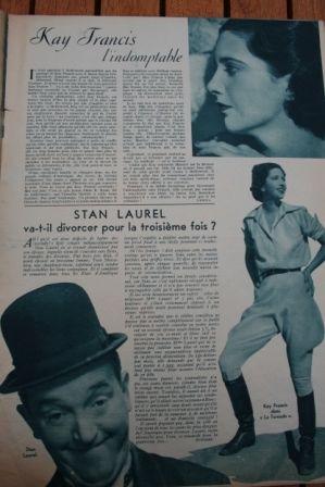 Kay Francis Stan Laurel