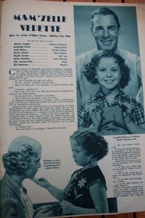 Shirley Temple Randolph Scott Jack Haley