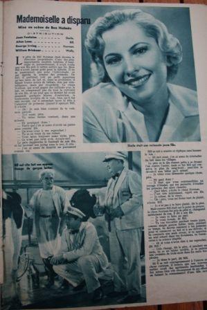 Joan Fontaine Allan Lane Billy Gilbert