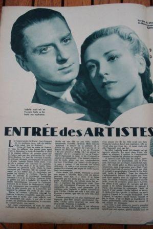 Odette Joyeux Louis Jouvet Claude Dauphin