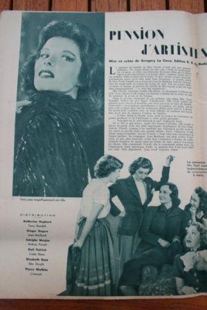 Katharine Hepburn Ginger Rogers Adolphe Menjou