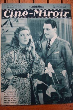 Betty Stockfeld Fernand Fabre