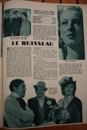 Michel Simon Françoise Rosay