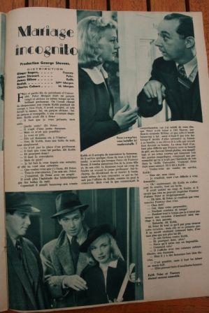 Ginger Rogers James Stewart Beulah Bondi