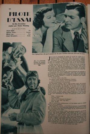 Clark Gable Myrna Loy Spencer Tracy