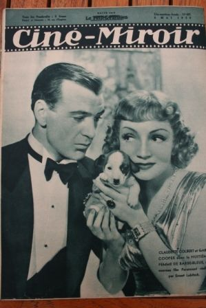 Claudette Colbert Gary Cooper