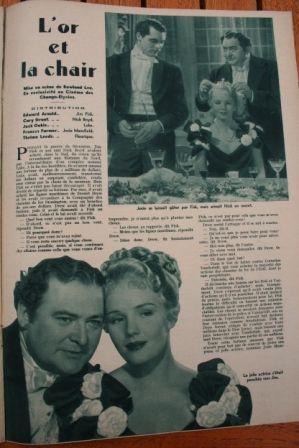 Cary Grant Frances Farmer Edward Arnold