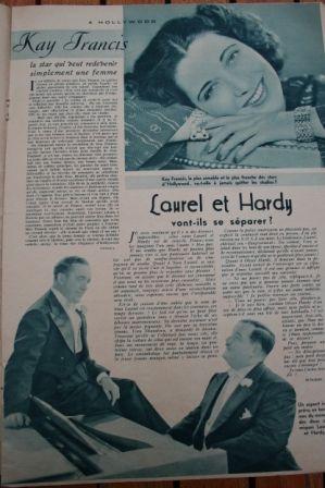 Kay Francis Laurel And Hardy