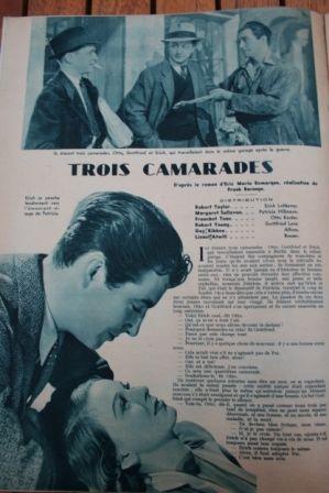 Robert Taylor Margaret Sullavan Franchot Tone