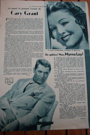 Cary Grant Myrna Loy