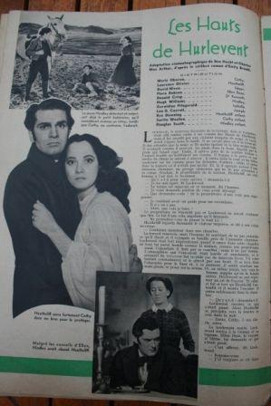 Merle Oberon Laurence Olivier David Niven