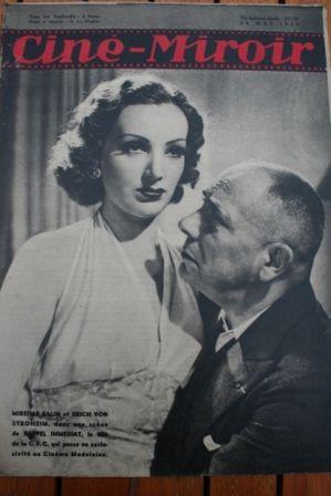 Mireille Balin Erich Von Stroheim