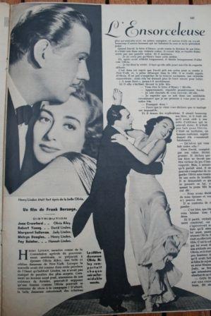 Joan Crawford Margaret Sullavan Melvyn Douglas