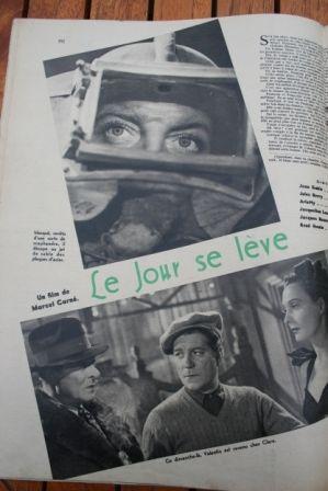 Jean Gabin Arletty Jules Berry