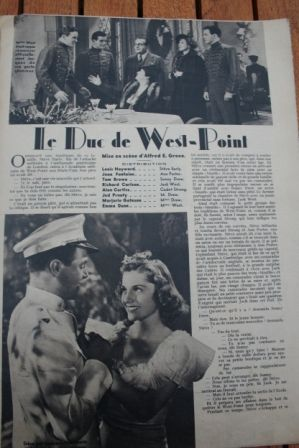 Joan Fontaine Louis Hayward Tom Brown