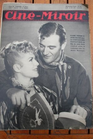 John Wayne Claire Trevor Stagecoach
