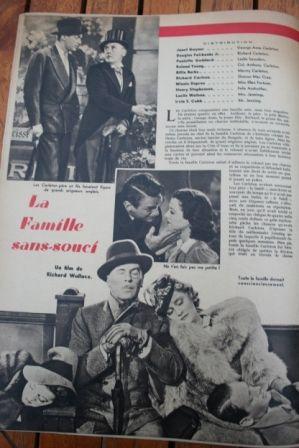 Douglas Fairbanks Jr Janet Gaynor Paulette Goddard